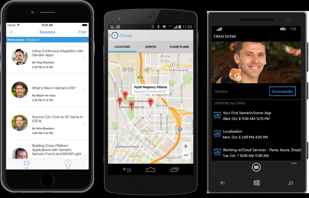 Evolve 2014 App