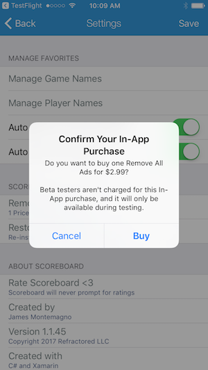Simplified In-App Purchases for Xamarin iOS and Android