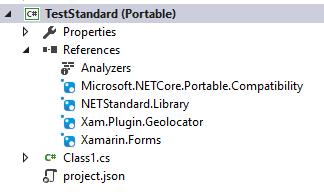 Installing a PCL into netstandard Libraries (Plugins & Xamarin Forms