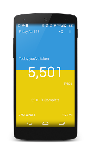 Part 3: My StepCounter Android: Pretty UI! - James Montemagno