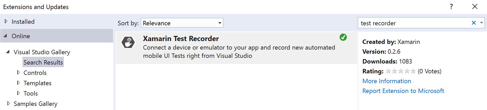 Setting Up Visual Studio to run Xamarin UITests - James Montemagno