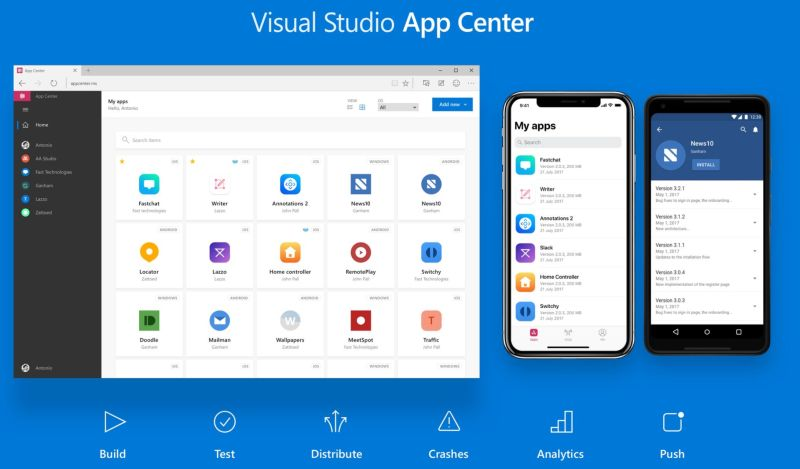 VS App Center Custom Build Scripts for Production Apps
