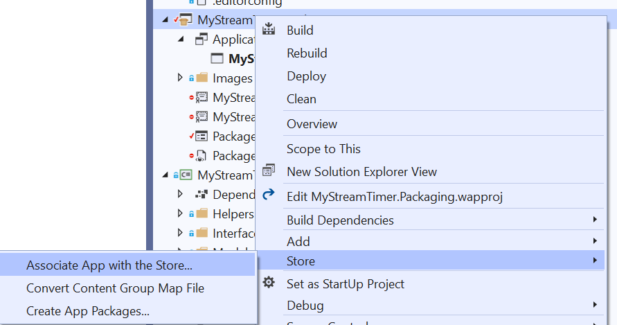 Distributing a  NET Core 3 WPF and WinForms App with MSIX