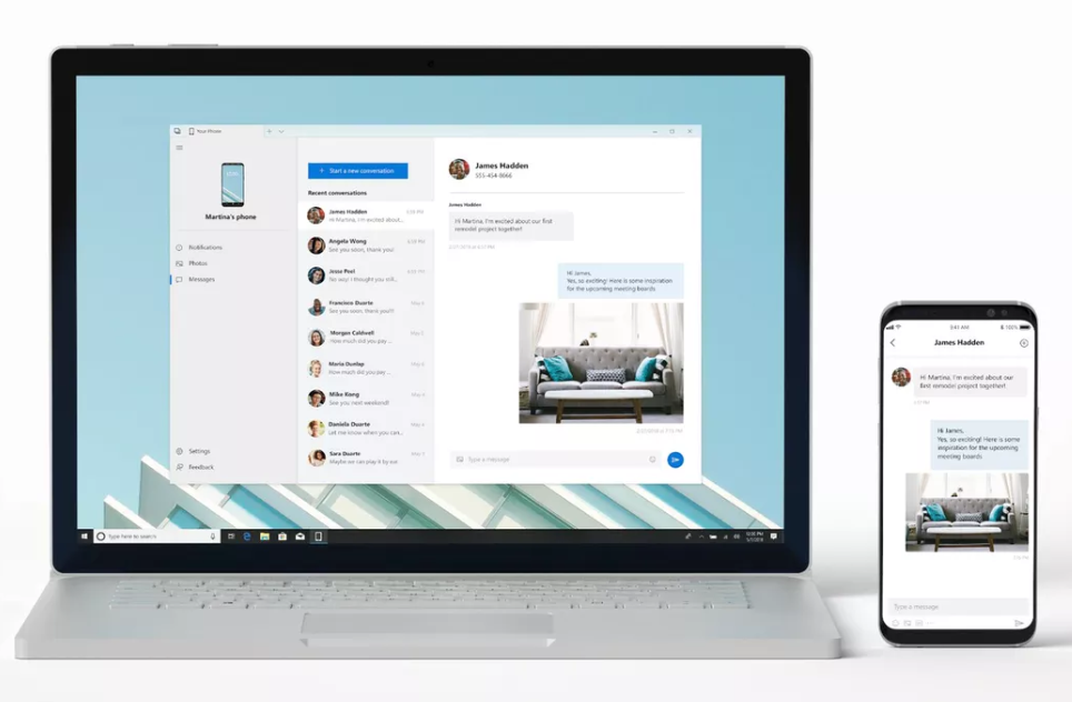 Get Android Messages, Photos, and Notifications on Your Windows Desktop