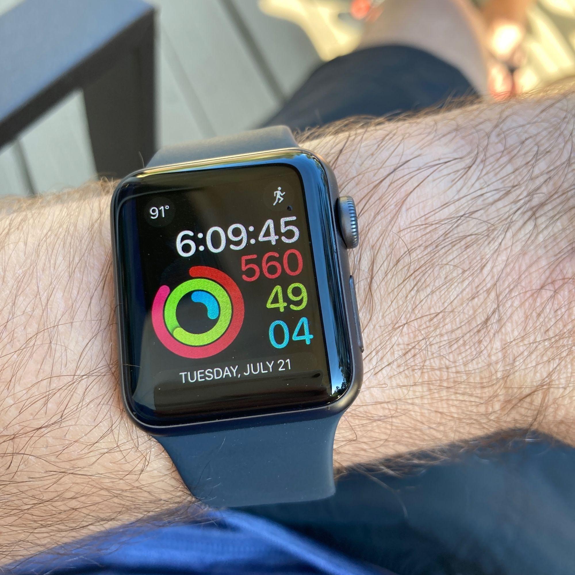My-new-Apple-Watch