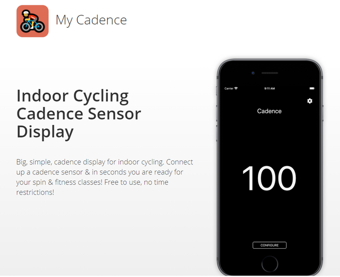 Introducing My Cadence for iOS & Android - a Simple Cadence Sensor Display